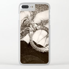 Through the Abysses of Time Clear iPhone Case