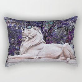 Patience in Violet Rectangular Pillow