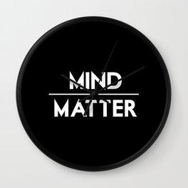 Mind / Matter Wall Clock