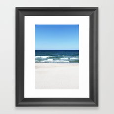 sea calling Framed Art Print