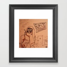 Ghetto Cinderella  Framed Art Print