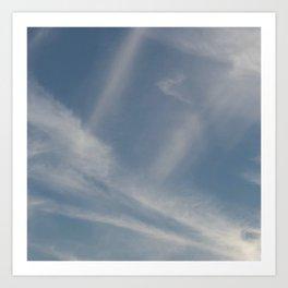 Spring Evening Sky // Cloud Photography Art Print