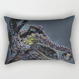 """""""Release the Kraken"""" - Giant Octopus Digital Illustration Rectangular Pillow"""