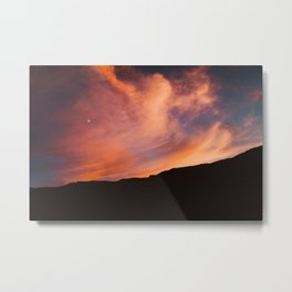 Utah Sunset Metal Print