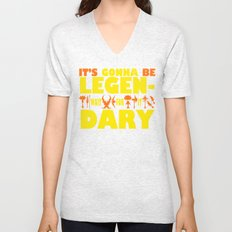 World of Warcarft: It's gonna be LEGEN- wait for it... DARY Unisex V-Neck