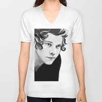 harry V-neck T-shirts featuring Harry by GirlApe