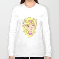 the legend of zelda Long Sleeve T-shirts featuring  Zelda  by HypersVE