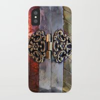 katniss iPhone & iPod Cases featuring Katniss by The Brass Clasp