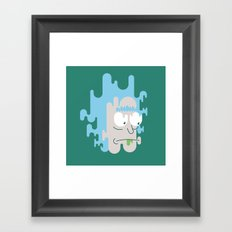 Get Melty Framed Art Print