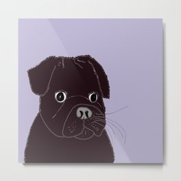 Somedays he's sweeter than others.  Metal Print