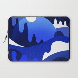 Terrazzo landscape blue night Laptop Sleeve