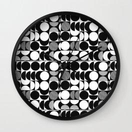 pattern motif 7 Wall Clock