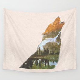 The Lone Wolf Wall Tapestry
