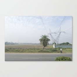 Indian Road Canvas Print