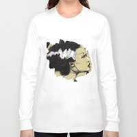 bride Long Sleeve T-shirts featuring The Bride by Jaleesa McLean