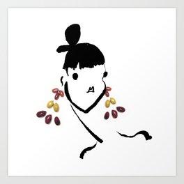Edible Ensembles: Olives Art Print