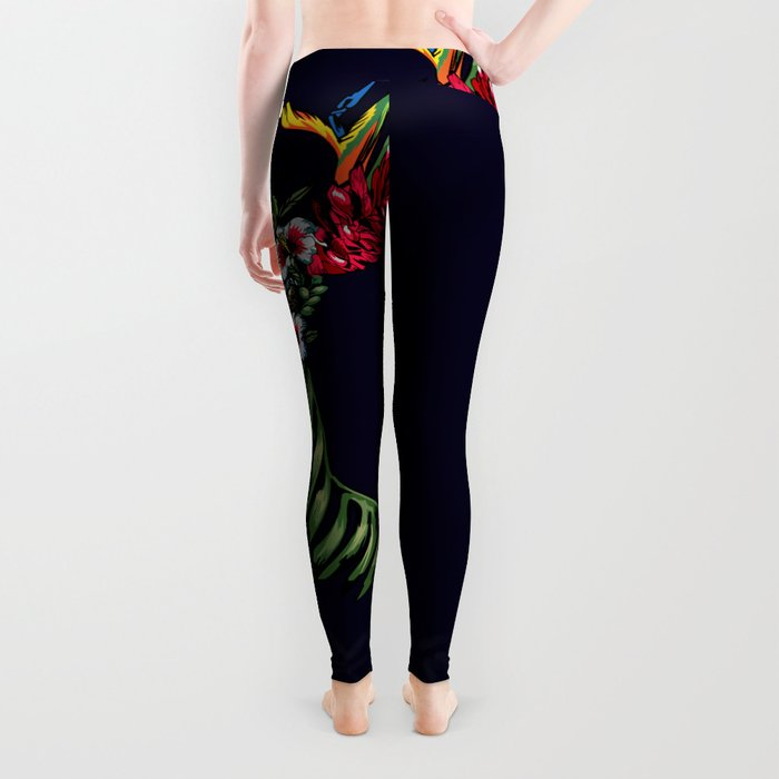 Tropical Deer Leggings