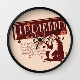 Ferdinand Wall Clock