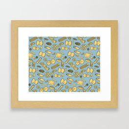 pasta  Framed Art Print
