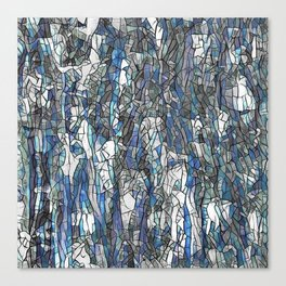 Abstract blue 2 Canvas Print