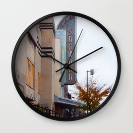 Old Theatre Wall Clock