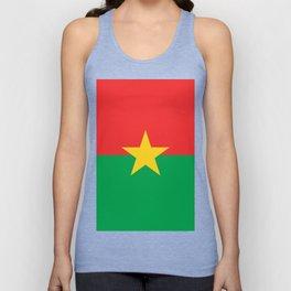 Burkina Faso Unisex Tank Top