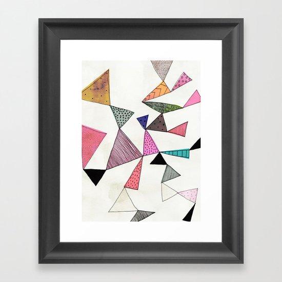 TD16 Framed Art Print