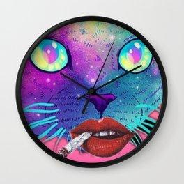 Bitch Face Wall Clock