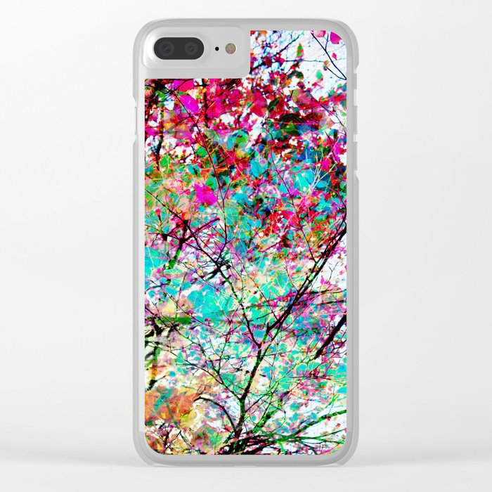 Autumn 8 Clear iPhone Case