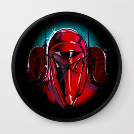 Sovereign Protectors Wall Clock