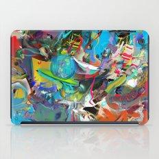 Microcrystalline Tendrils iPad Case