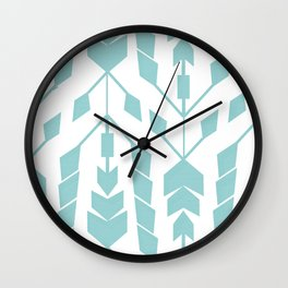 Crossroads Wall Clock