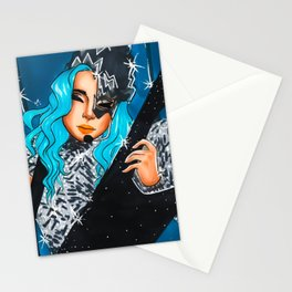 Disco Gal Stationery Cards