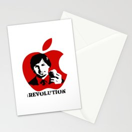 STEVE JOBS iRevolution (in aid of Cancer Research) Stationery Cards