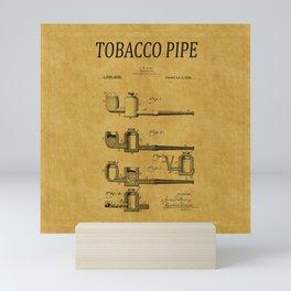 Tobacco Pipe Patent 3 Mini Art Print