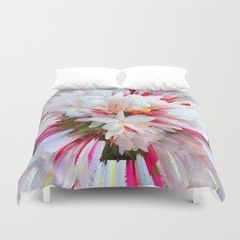 Flowers of  Pure Love Essence Duvet Cover