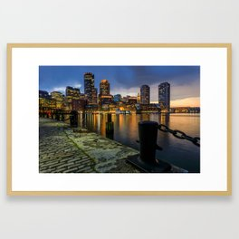 Boston, Massachusetts 3 Framed Art Print