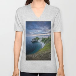 Man o'War Beach Unisex V-Neck