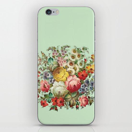 Russian Flowers iPhone & iPod Skin