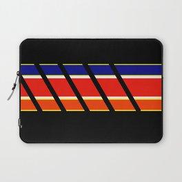 Team Colors 4...blue,orange,red,yellow Laptop Sleeve