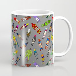 Butt of Superhero Villian - Dark Coffee Mug