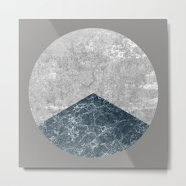 Concrete Silk Metal Print