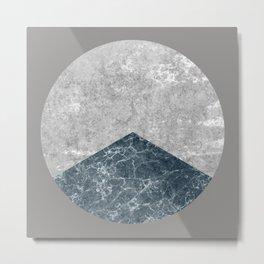 Concrete Silk Metal Print