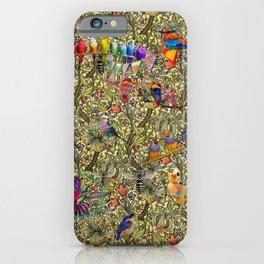 William's Hooping Birds iPhone Case