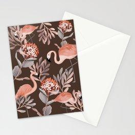 Pastel Flamingos ! Stationery Cards