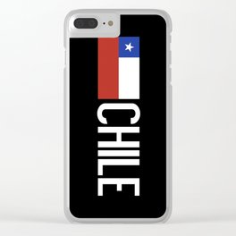 Chile: Chilean Flag & Chile Clear iPhone Case