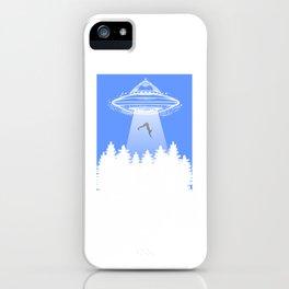 Cute & Funny Get In Loser UFO Aliens Spaceship iPhone Case