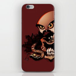 The Dead Cowboy, The Rattlesnake and The Owl iPhone Skin