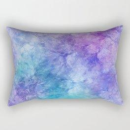 Frozen Leaves 12 Rectangular Pillow