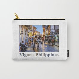 Rush Hour in Vigan City Carry-All Pouch